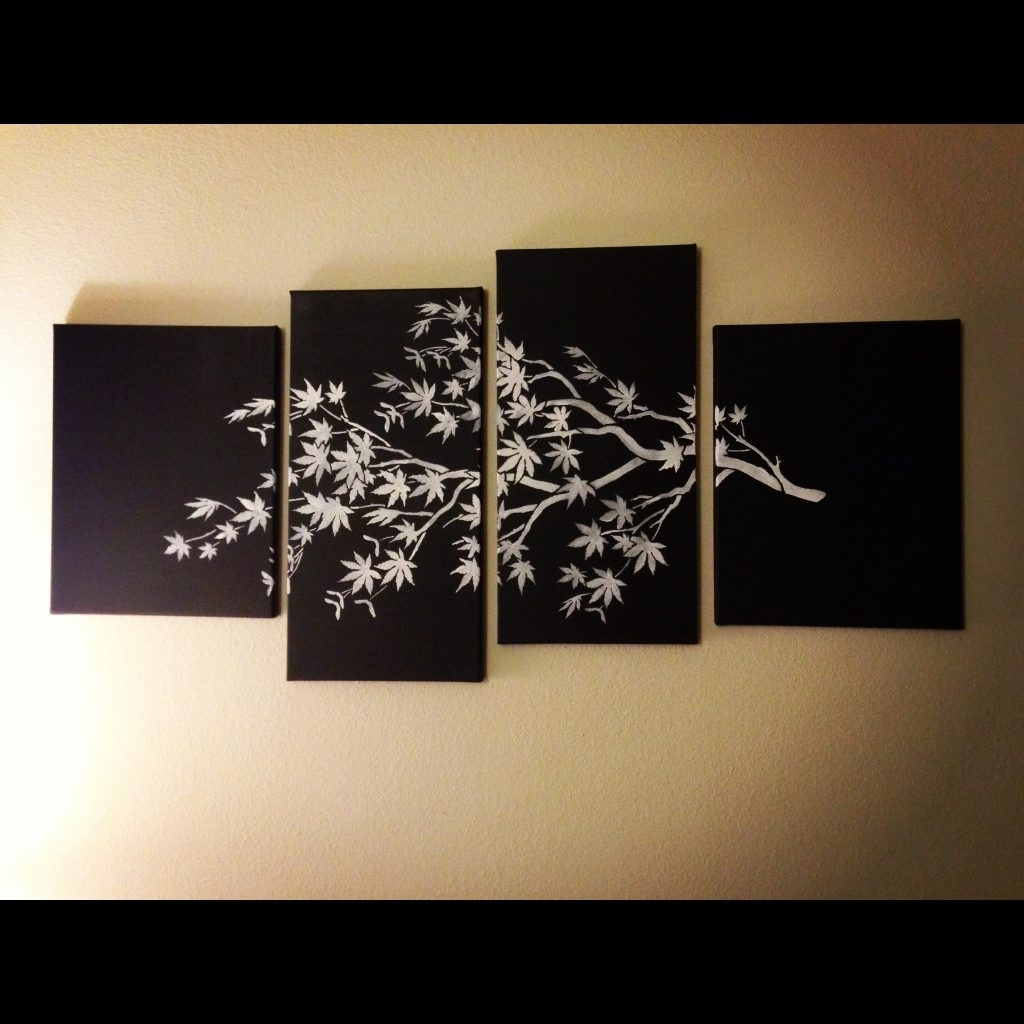 Most Recent Multi Canvas Wall Art Within Grand Multiple Canvas Wall Art With Fancy 94 About Remodel Cling (View 6 of 15)