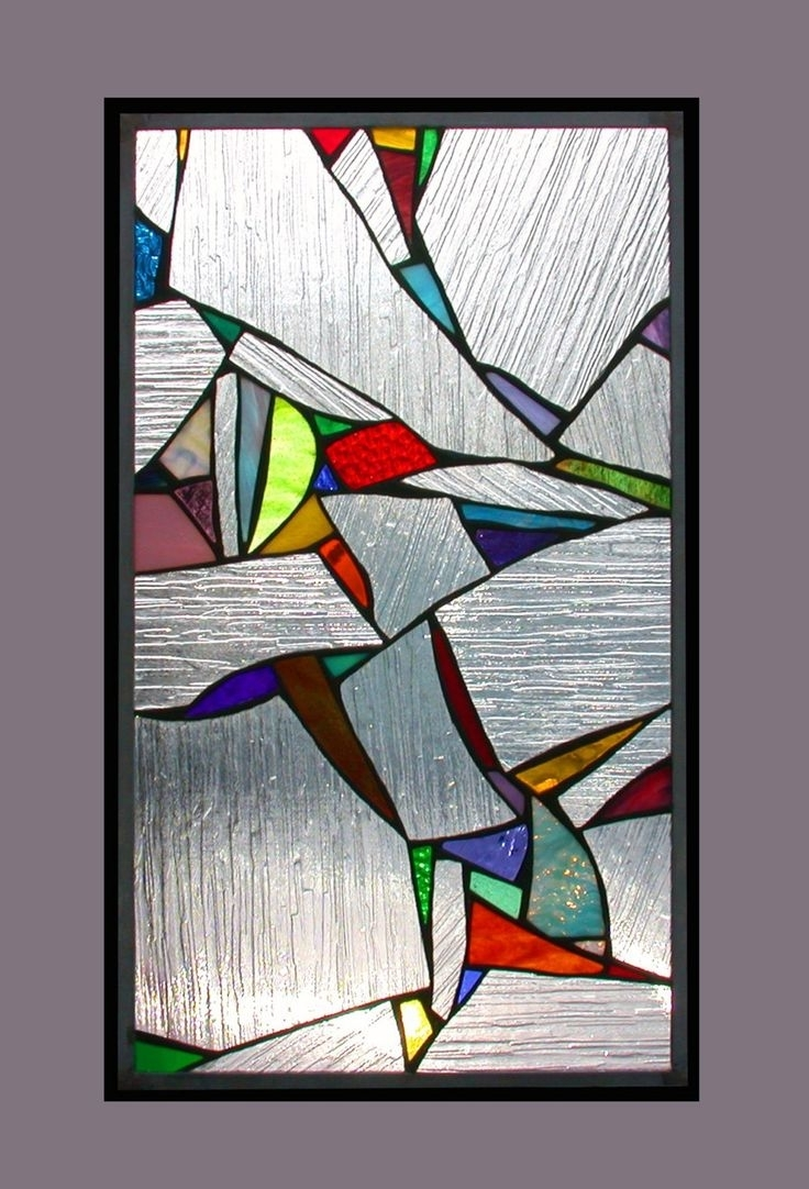 15 best abstract fused glass wall art
