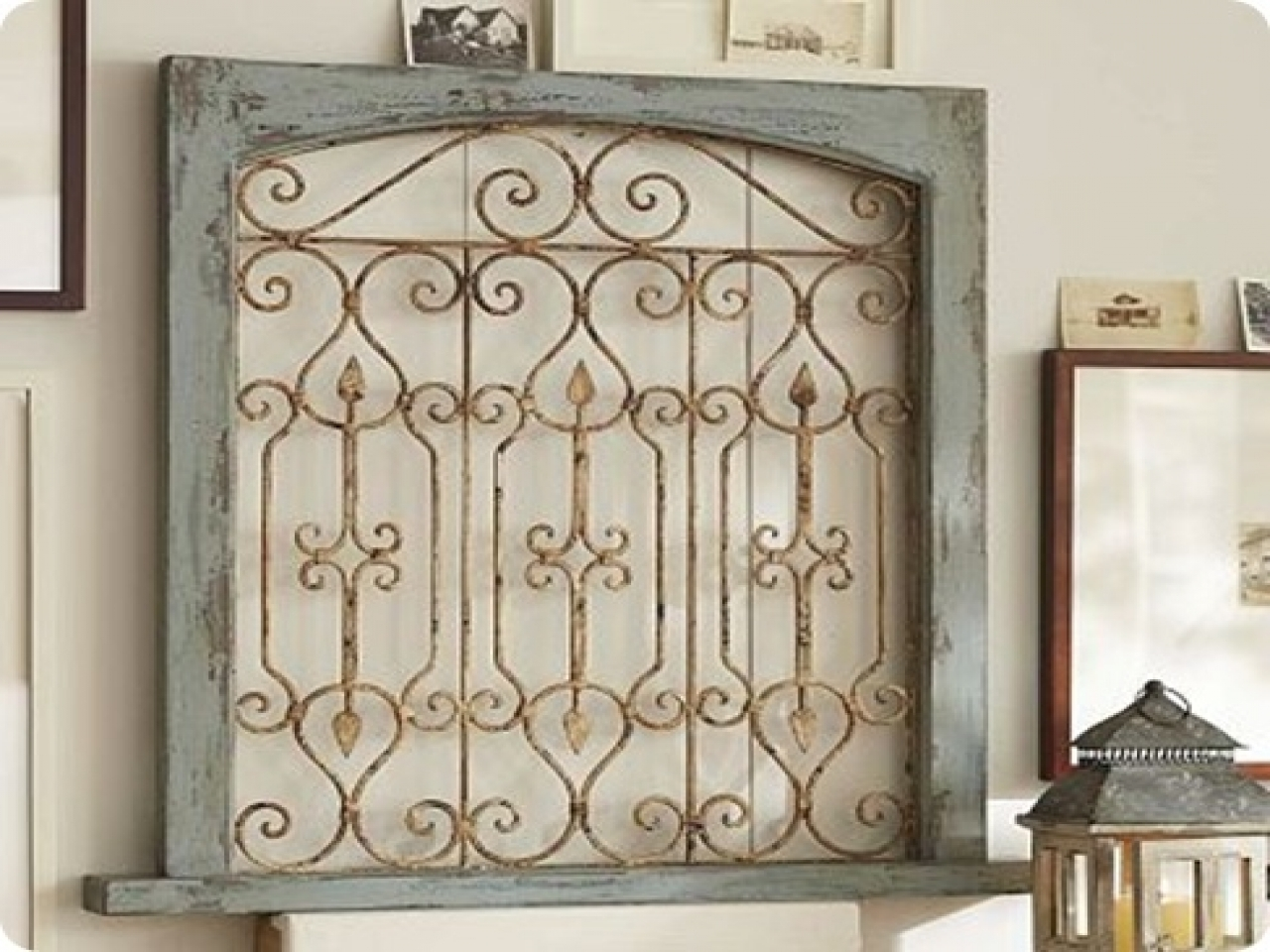 Most Recent Wall Art Designs: Kirklands Wall Art Garden Gate Wall Decor Iron With Regard To Iron Gate Wall Art (View 2 of 15)