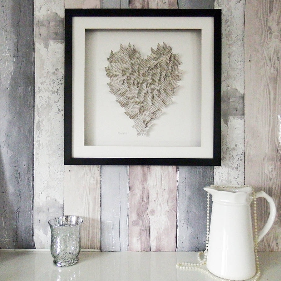 Most Recently Released 3D Butterfly Framed Wall Art Regarding Framed 3D Butterfly Heart Artworkdaisy Maison (View 13 of 15)