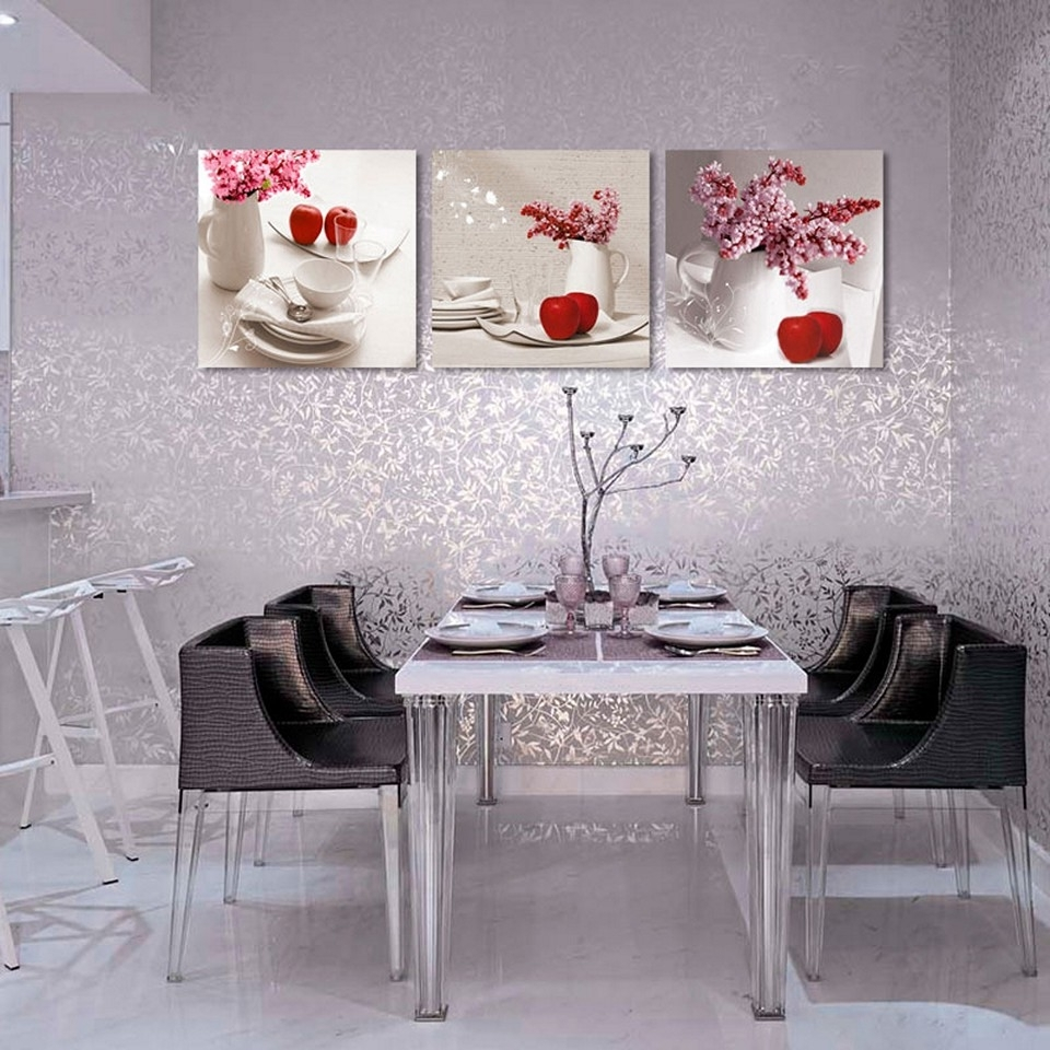 Most Recently Released Art For Kitchen Walls Intended For Kitchen Design : Kitchen Sign Wall Decor Kitchen Wall Stickers Art (View 8 of 15)