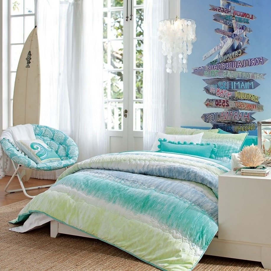 Most Recently Released Bedroom: Cool Bedroom Designs With Entrancing Beach House Bedroom In Beach Wall Art For Bedroom (View 11 of 15)