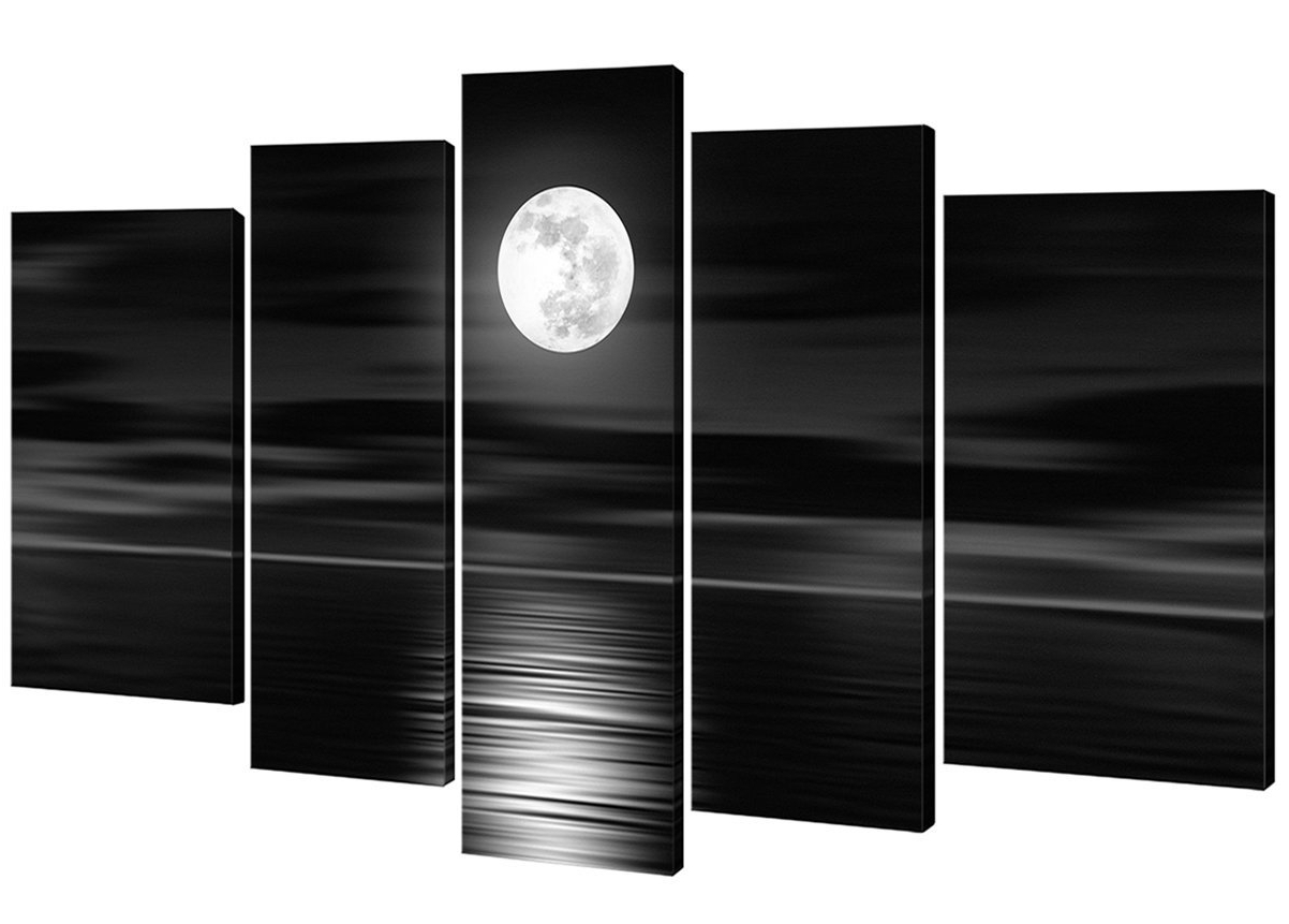 Most Recently Released Black And White Wall Art Pertaining To Amazon: Home Art – Modern Art Giclee Canvas Prints Framed (View 6 of 15)
