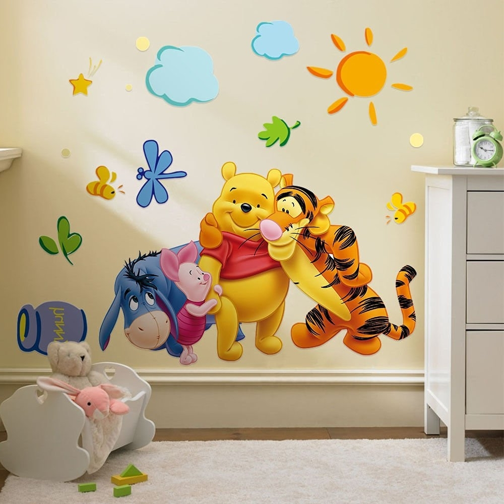 Most Recently Released Cheap Winnie Pooh Wall, Find Winnie Pooh Wall Deals On Line At With Regard To Winnie The Pooh Wall Decor (View 7 of 15)