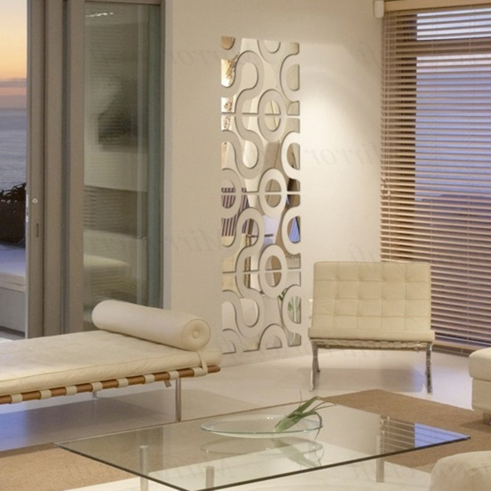 Most Recently Released Diy Mirror Wall Art In Wall Art Designs: Mirrored Wall Art Set 3D Acrylic Mirrored (View 6 of 15)