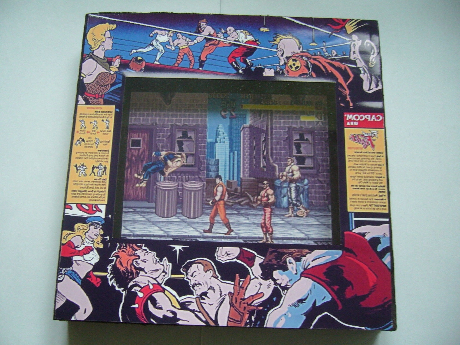 Most Recently Released Final Fight Arcade Diorama (View 10 of 15)