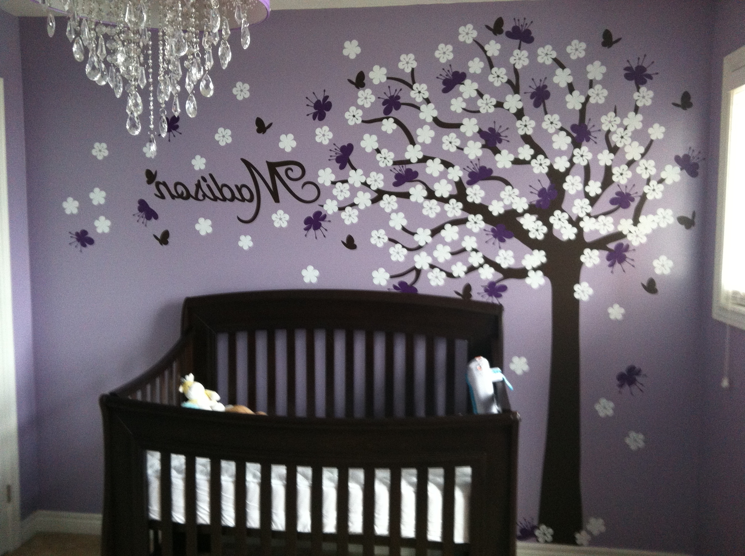 Most Recently Released Ideas About Purple Girl Rooms On Pinterest Vintage Girls My Baby With Purple Wall Art For Bedroom (View 15 of 15)