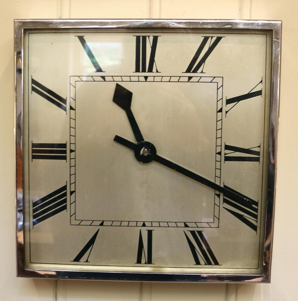 Most Recently Released Large Art Deco Wall Clocks Inside Deco Wall Clock – Digiscot (View 14 of 15)