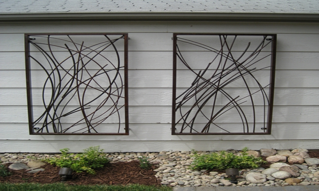 Most Recently Released Large Garden Wall Art Outdoor Garden Wall Decor Large Metal Wall Within Large Garden Wall Art (View 10 of 15)