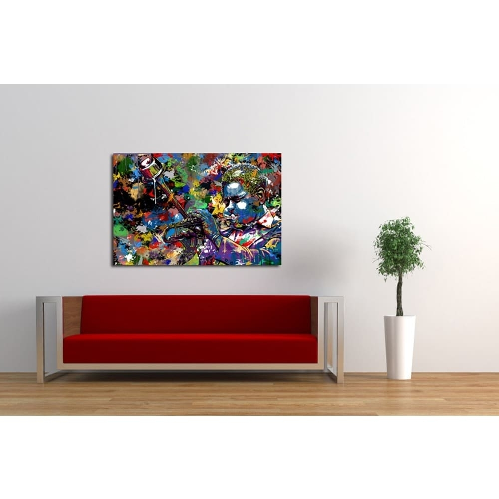 Most Recently Released Maxwell Dickson 'jazz' Limited Edition Canvas Wall Art – Free Within Limited Edition Canvas Wall Art (View 12 of 15)