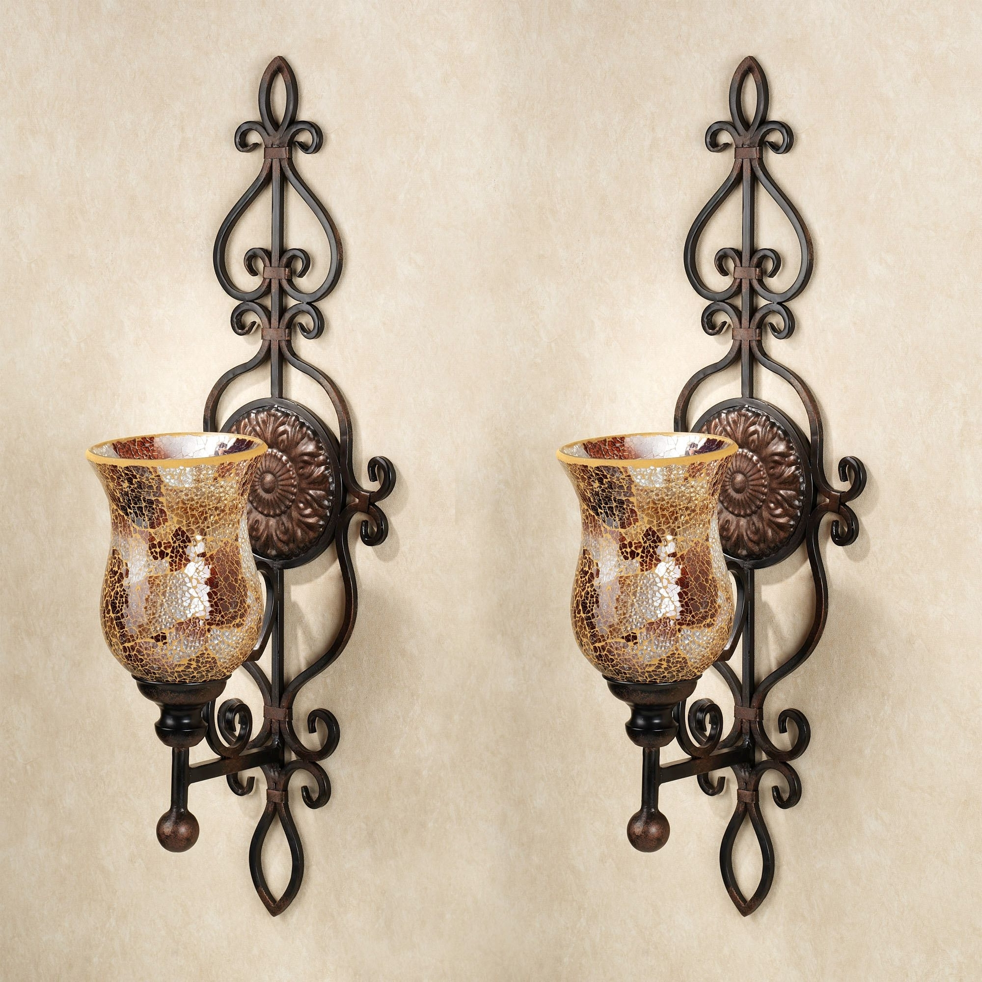 Most Recently Released Metal Wall Art With Candles Throughout Hanging Wall Candle Sconces Fresh Home Concept Wall Sconces For (View 11 of 15)