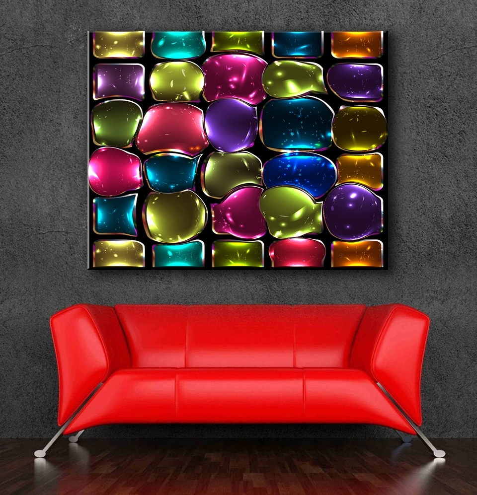 Most Recently Released Modern Glass Wall Art Pertaining To Buy Stained Glass Mosaic Art And Get Free Shipping On Aliexpress (View 15 of 15)