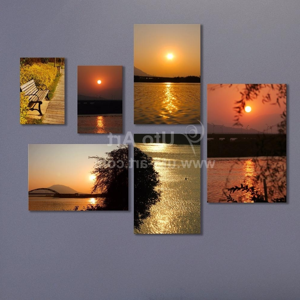 Most Recently Released Multiple Piece Canvas Wall Art Modern Modular Pictures Digital Within Multiple Piece Canvas Wall Art (View 14 of 15)