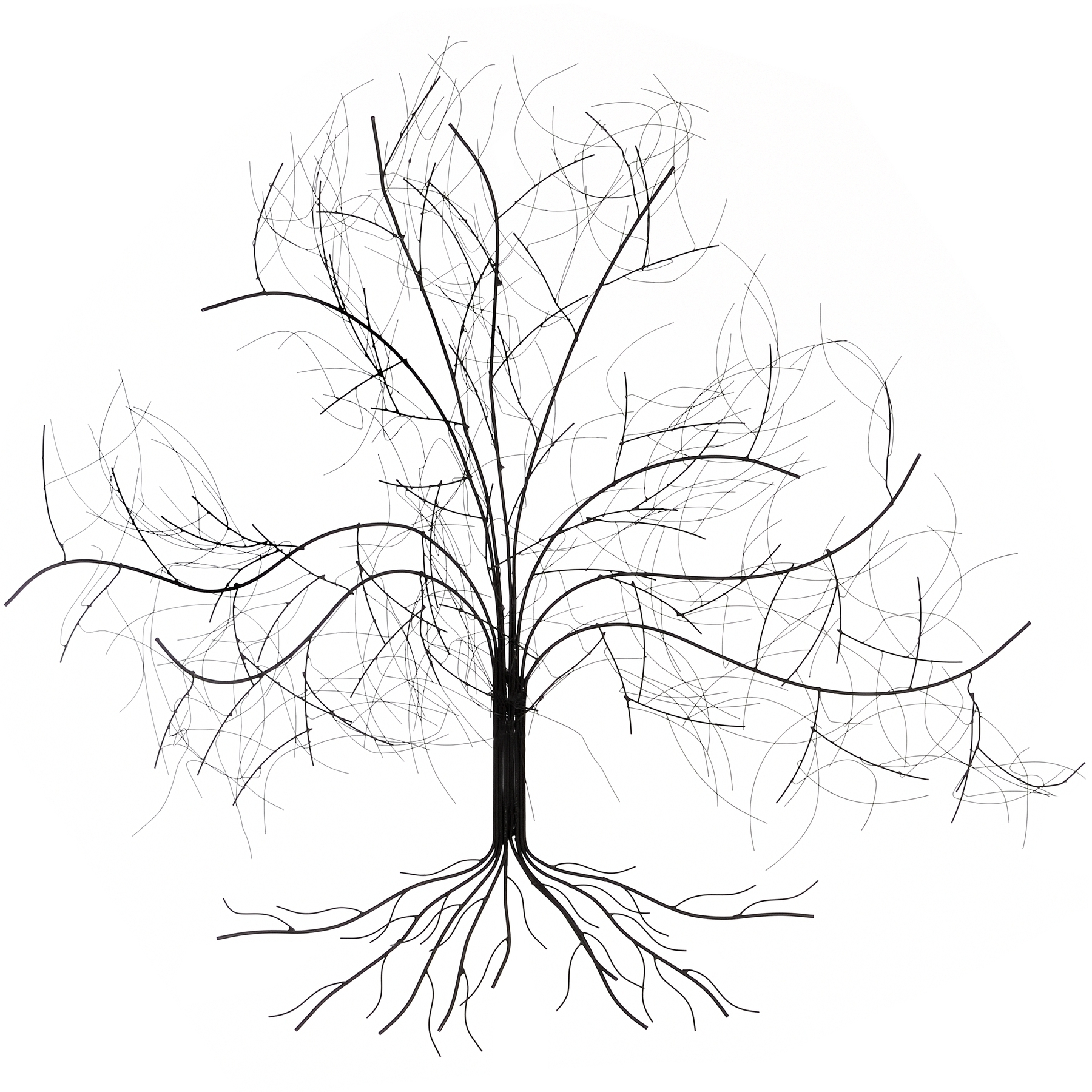 Most Recently Released Oak Tree Wall Art With Wall Art Decor Ideas: White Oak Tree Metal Wall Art Sample Nice (View 5 of 15)