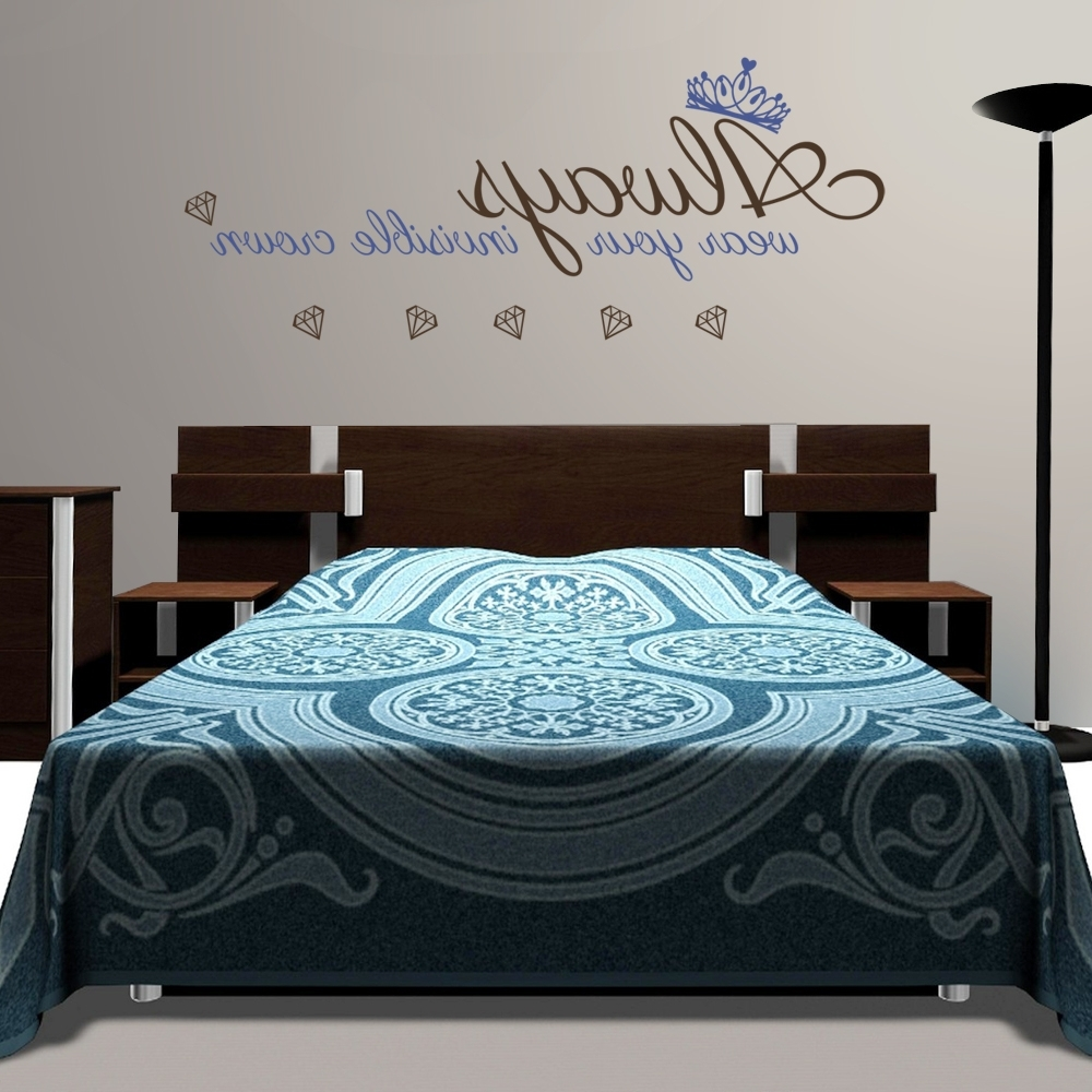 Most Recently Released Over The Bed Wall Art For Wall Stickers Over Bed • Walls Decor (View 9 of 15)
