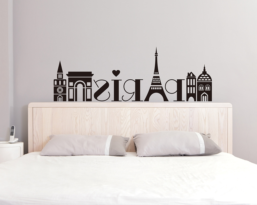 Most Recently Released Paris Vinyl Wall Art For Paris Wall Decals – Vinyl Wall Art Stickers (View 3 of 15)