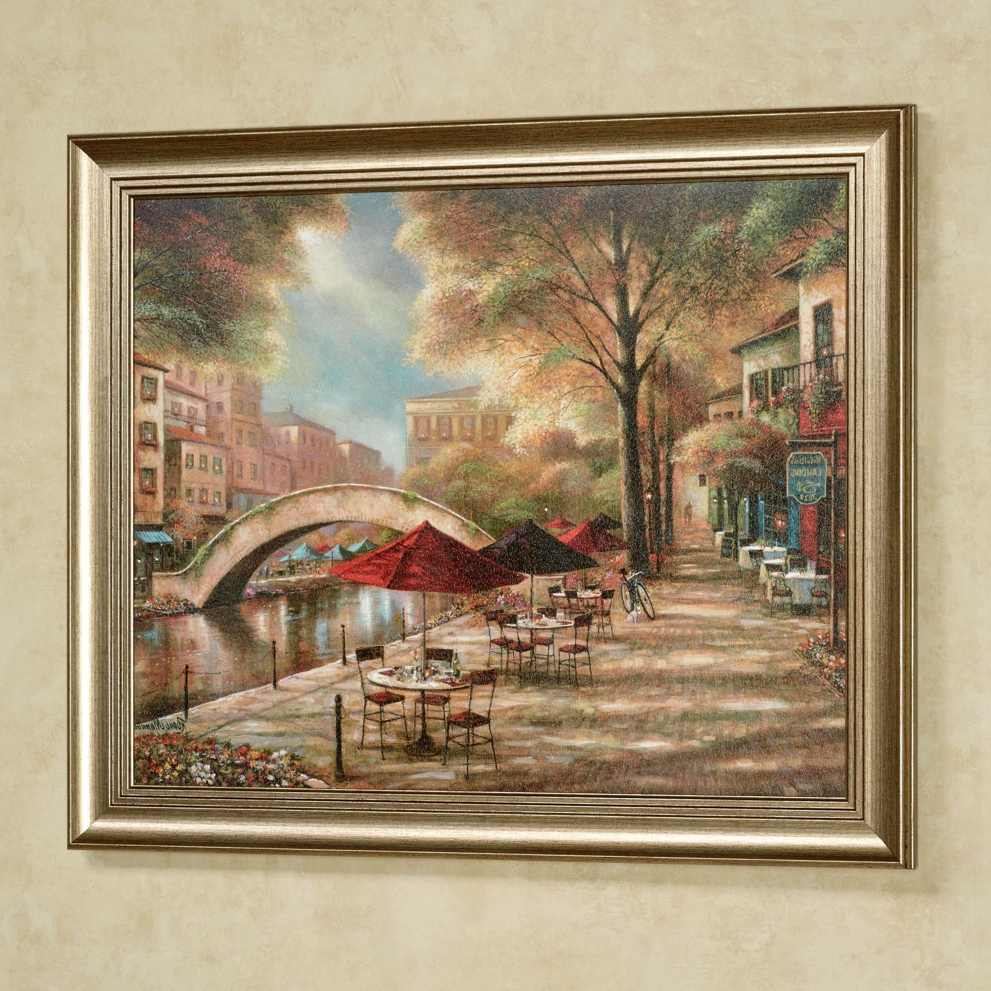 Most Recently Released Riverwalk Charm Framed Wall Art Picture Inside Macys Wall Art (View 5 of 15)