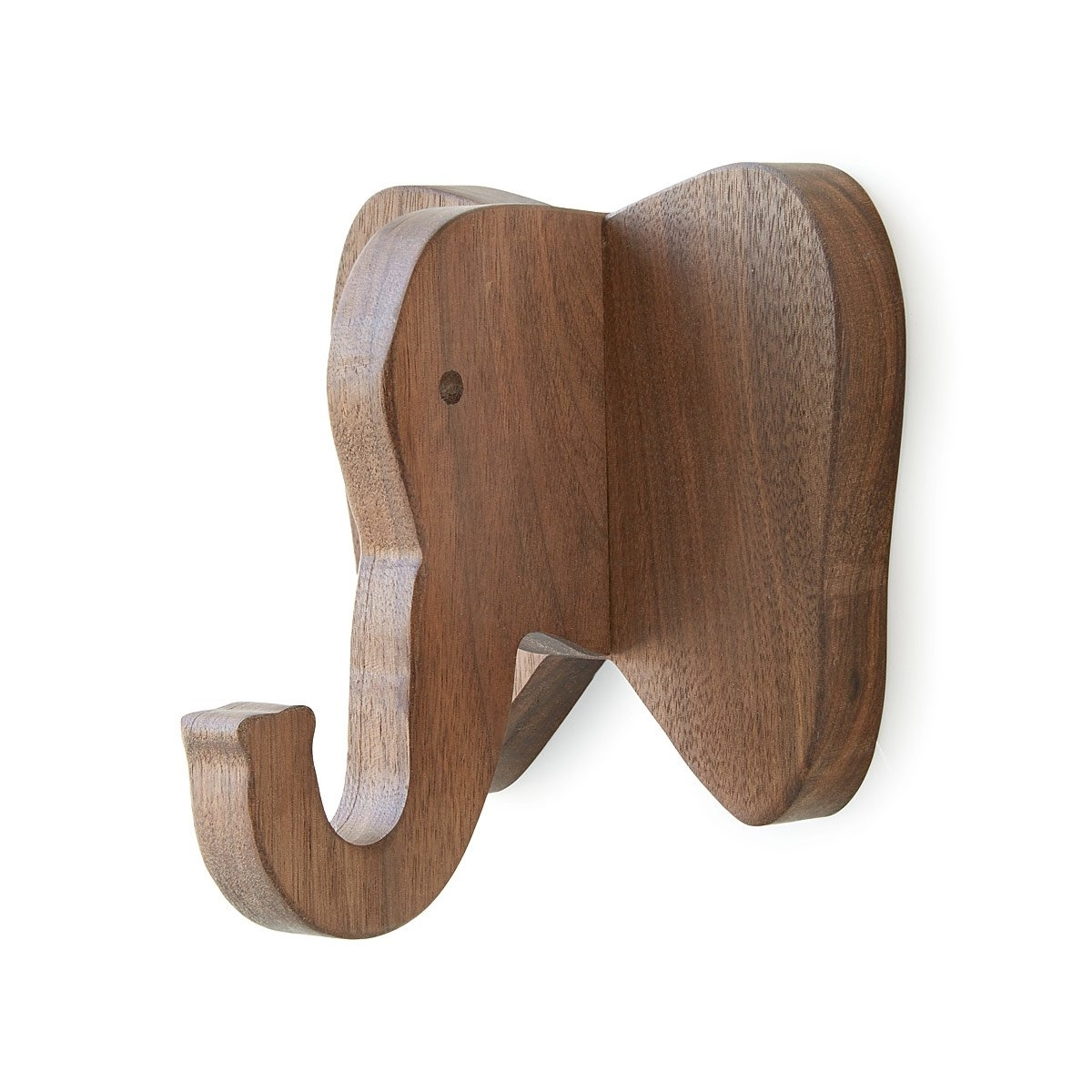 Most Recently Released Wall Art Coat Hooks Regarding Elephant Wall Hook (View 6 of 15)