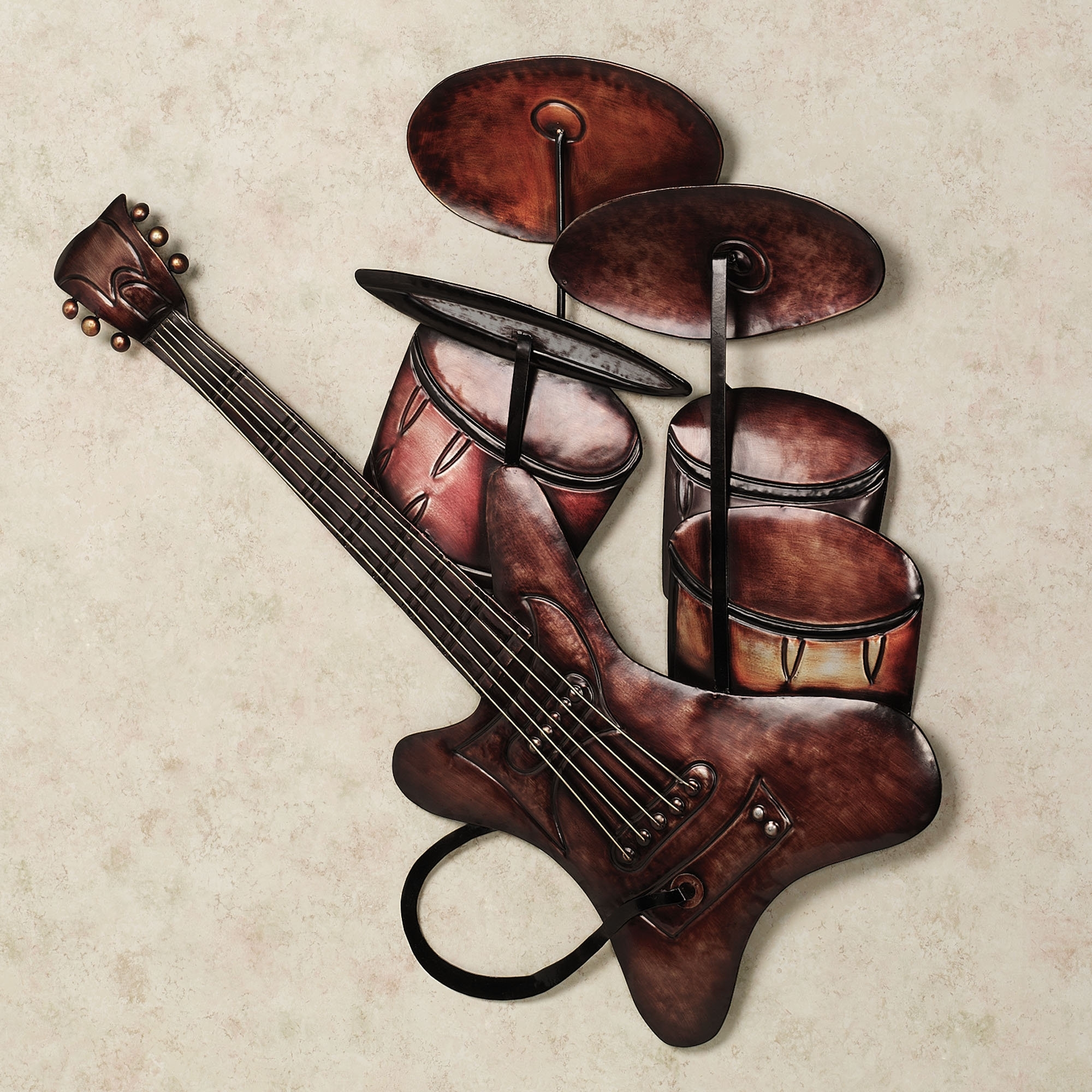 Most Recently Released Wall Art Design Ideas: Sensational Ideas Metal Wall Art Music Intended For Guitar Metal Wall Art (View 6 of 15)