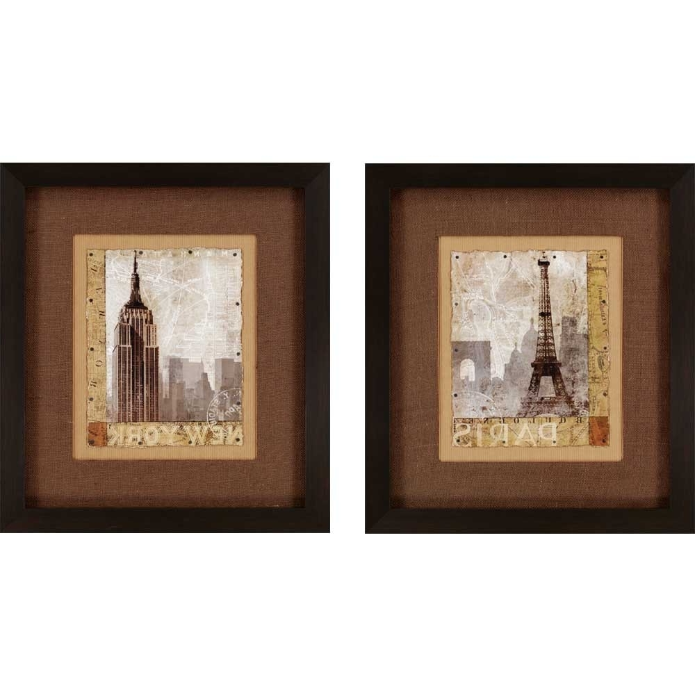 Most Recently Released Wall Art Designs: Modern Designing Wall Art Framed For Framing Intended For Brown Framed Wall Art (View 9 of 15)