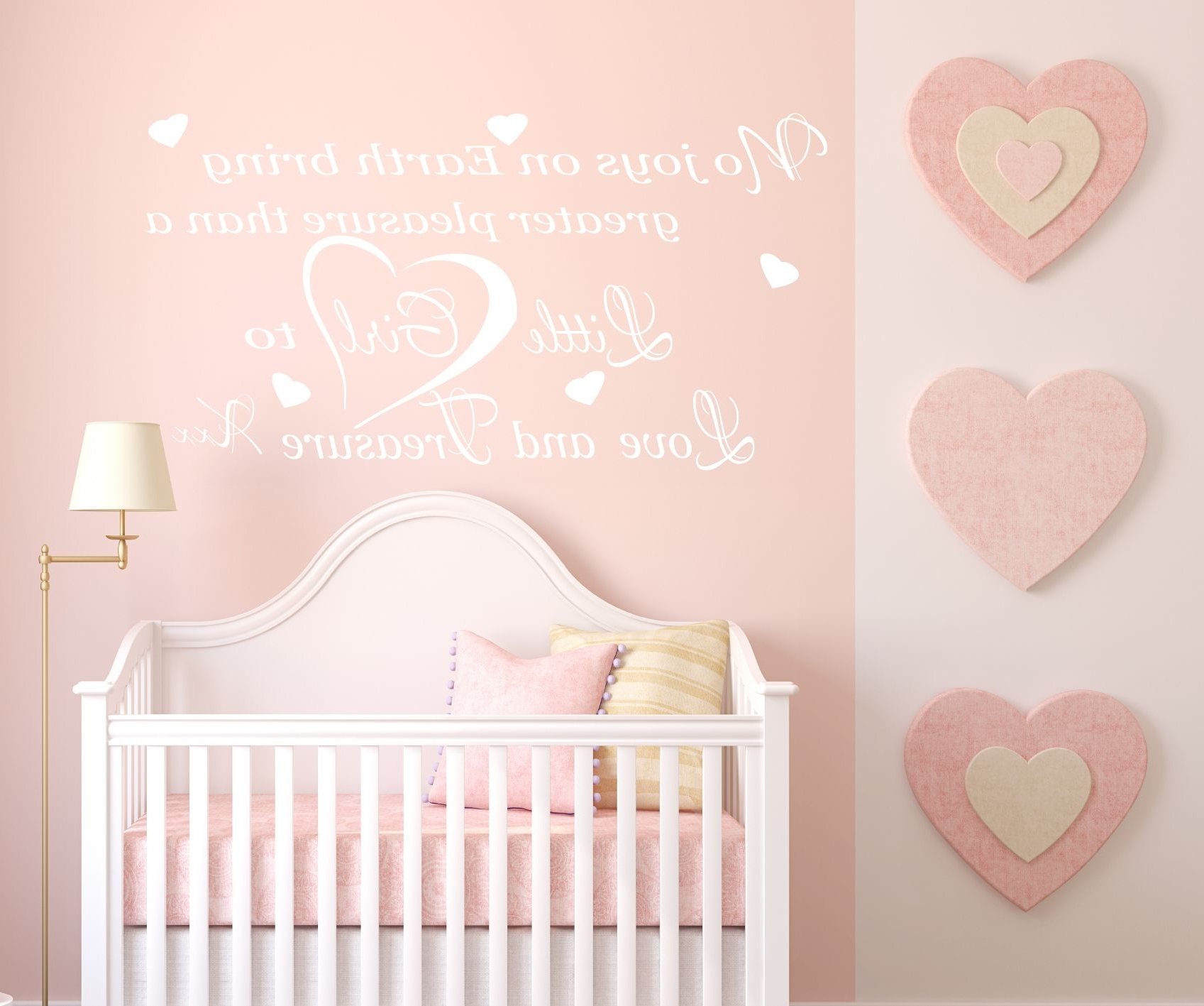 Most Recently Released Wall Art For Girls Inside Wall Art Decor Ideas: Bedroom Little Nursery Wall Art Girl Love (View 7 of 15)
