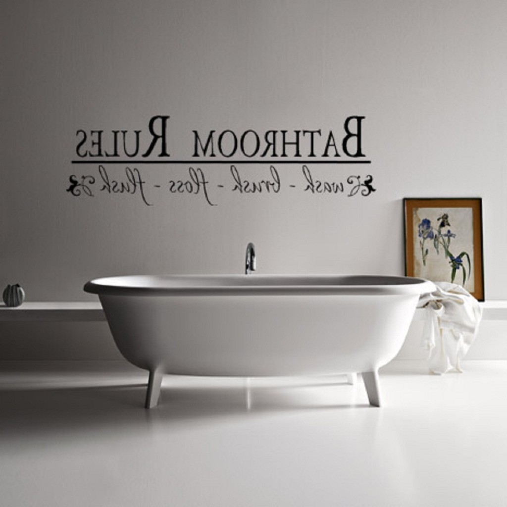 Most Recently Released Wall Art For The Bathroom Intended For Ideas Decorating Bathroom Wall Art (View 10 of 15)