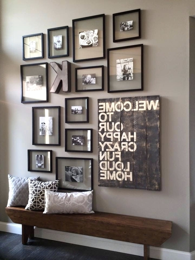 Most Recently Released Wall Art Ideas For Hallways Regarding Wall Arts ~ Diy Wall Art For Large Walls Wall Decor For Big Empty (View 5 of 15)