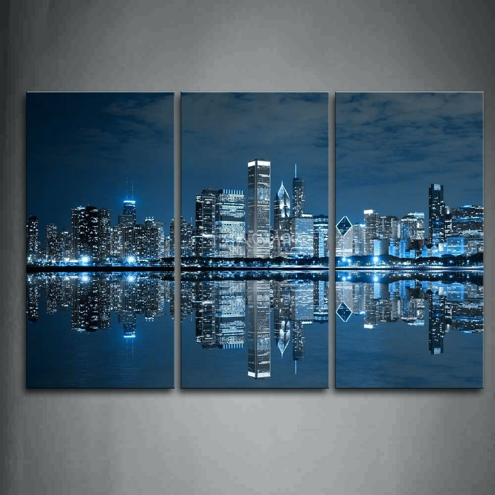 Most Recently Released Wall Arts ~ Teal Colour Wall Art Navy Blue And Beige Wall Art 3 Regarding Wall Art Teal Colour (View 7 of 15)