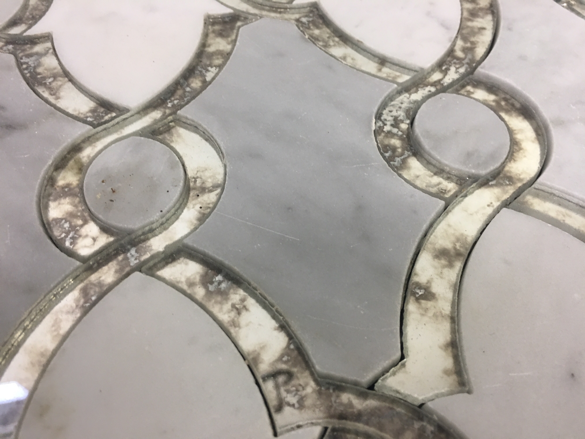 Most Recently Released Waterjet Marble Mosaic Kitchen &a Bathroom Backsplash (View 9 of 15)