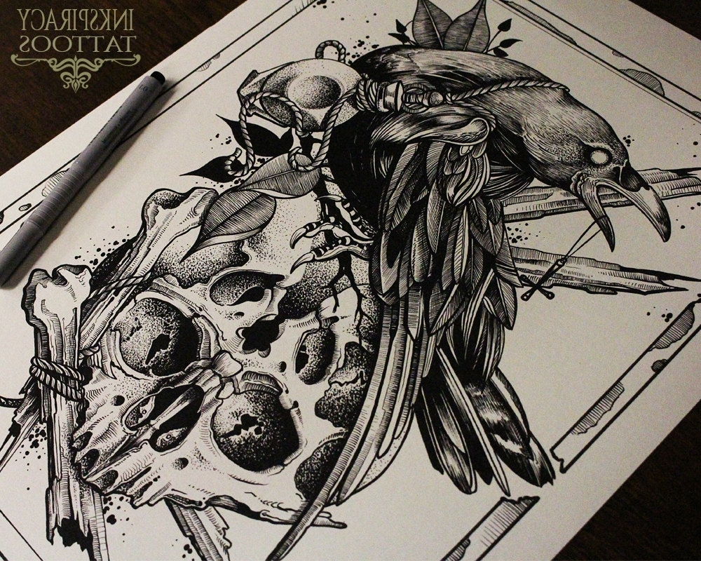 Most Up To Date Art Print,wall Art Prints,tattoo Print,tattoo Art,wall Art,dark With Tattoo Wall Art (View 8 of 15)