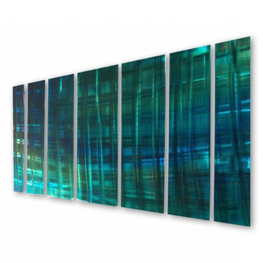 Most Up To Date Ash Carl Metal Wall Art With Regard To All My Walls Abstractash Carl Metal Wall Art In Blue And (View 13 of 15)