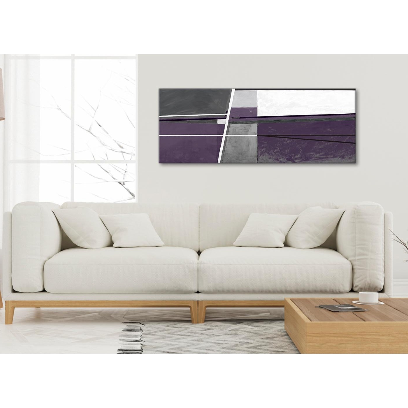 Most Up To Date Aubergine Grey Painting Bedroom Canvas Wall Art Accessories With Regard To Aubergine Wall Art (View 13 of 15)