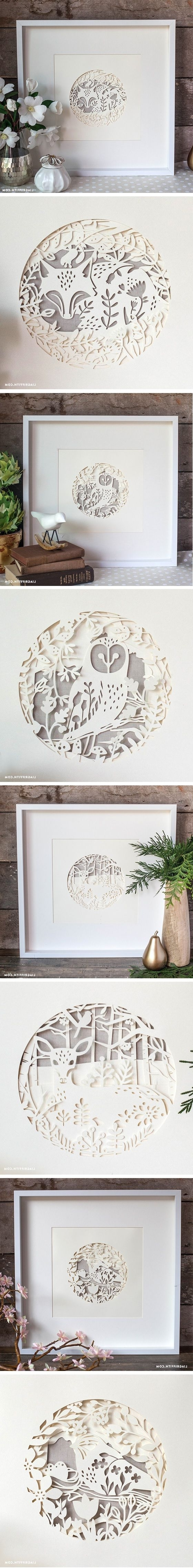 Most Up To Date Best 25+ Paper Wall Art Ideas On Pinterest (View 10 of 15)