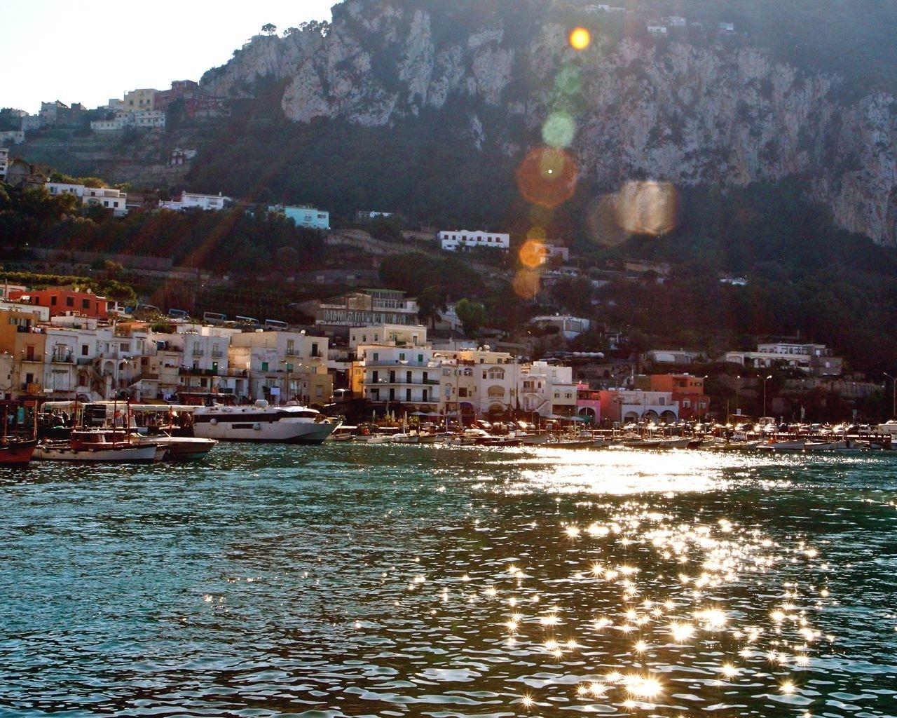 Most Up To Date Capri Italy Print – Mediterranean Sea Decor – Sunshine Photo With Regard To Italian Village Wall Art (View 8 of 15)