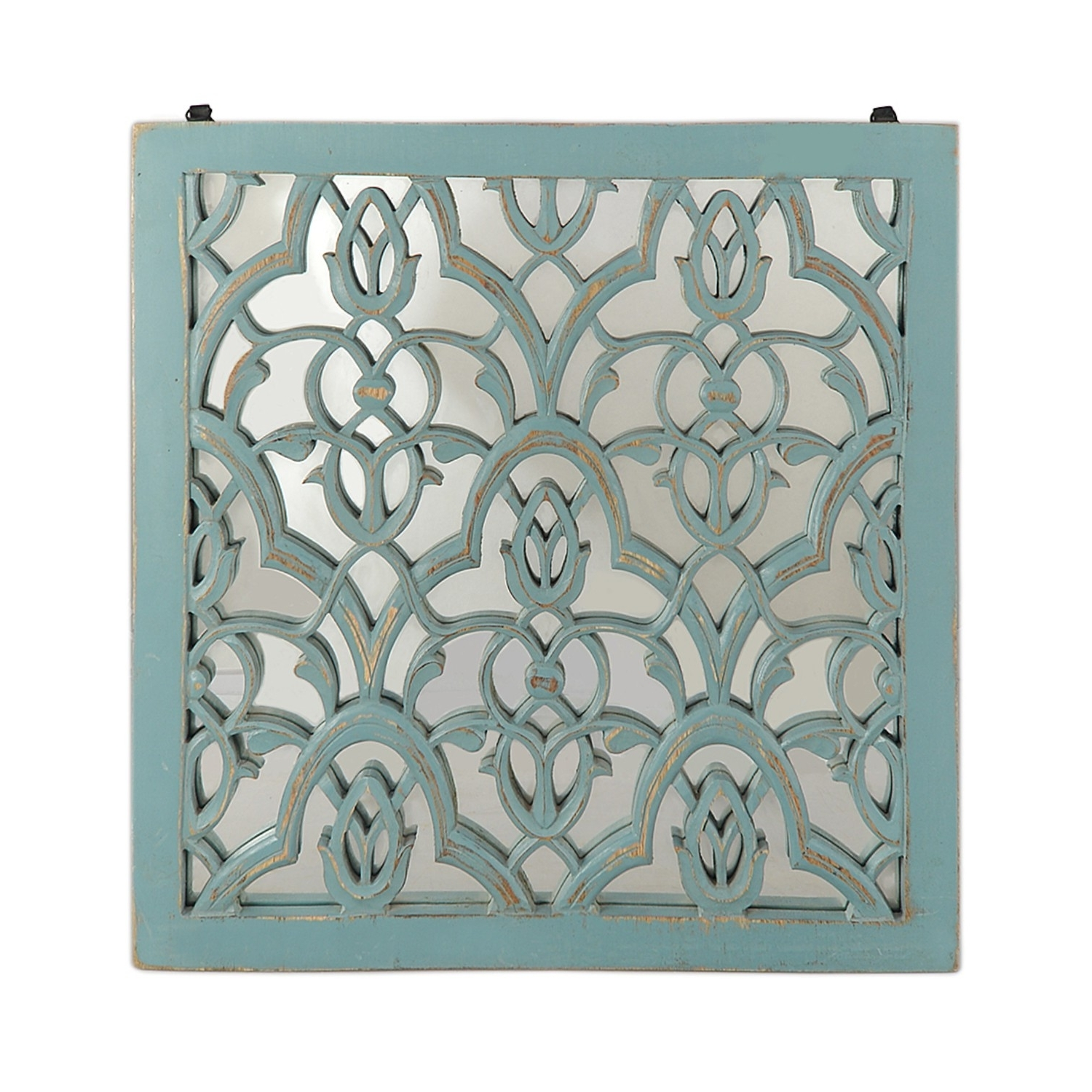 Most Up To Date Damask Wall Art: Blue (View 7 of 15)