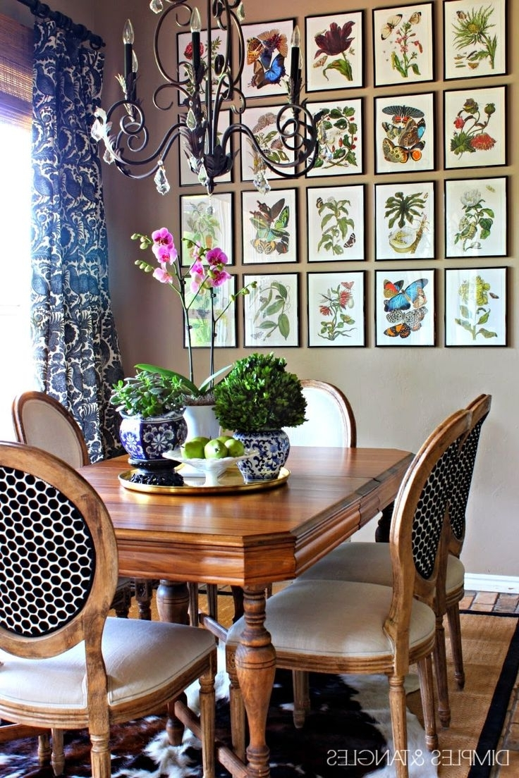 Most Up To Date Dining Area Wall Art Within Best 25+ Dining Room Wall Art Ideas On Pinterest (View 4 of 15)