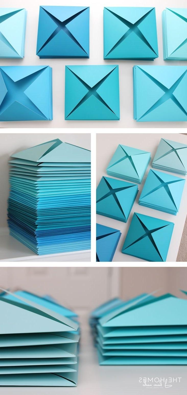 Most Up To Date Diy 3D Wall Art Decor Inside Best 25+ 3D Wall Art Ideas On Pinterest (View 6 of 15)
