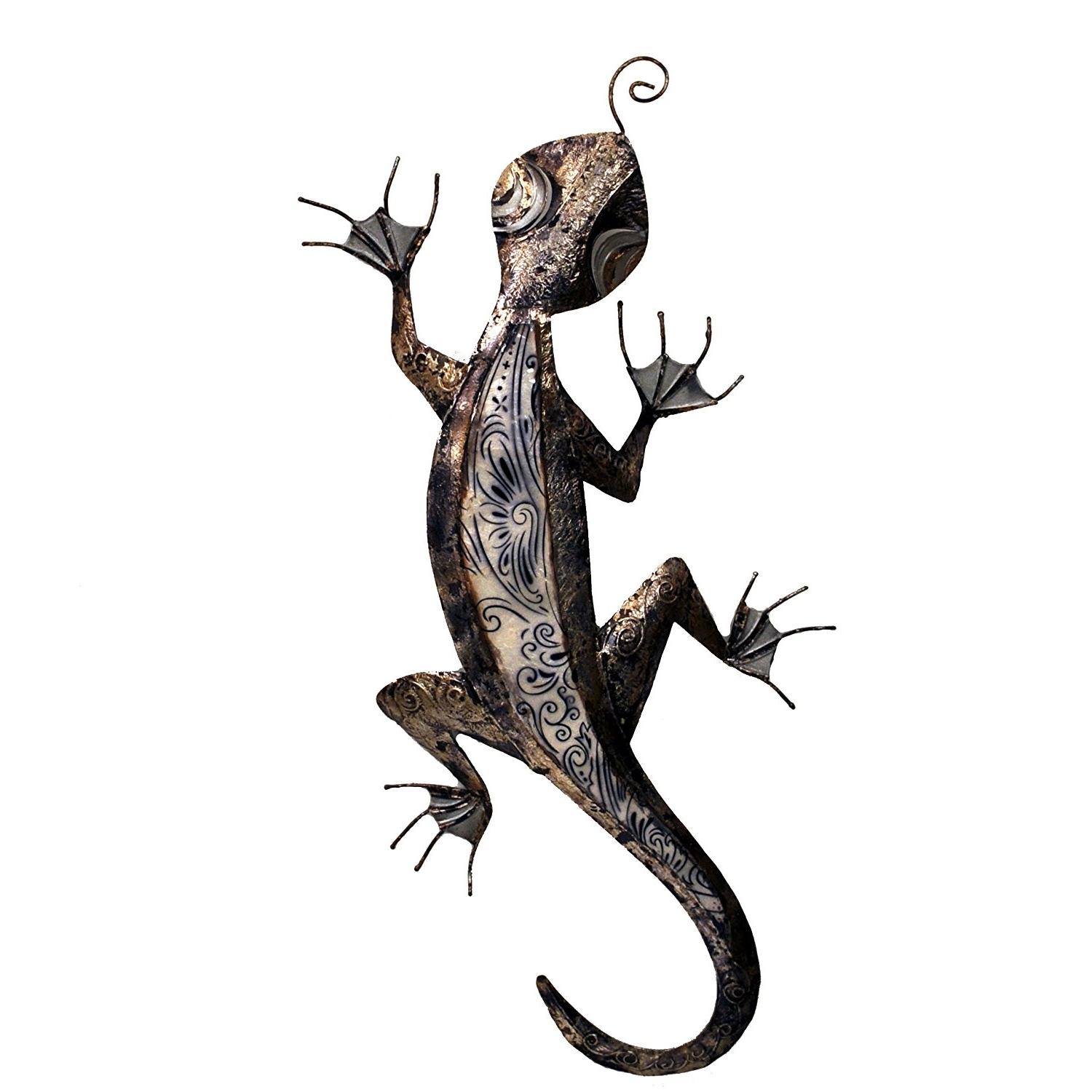 Most Up To Date Gecko Wall Decor Ideas: Gecko Metal Wall Art In Gecko Outdoor Wall Art (View 11 of 15)