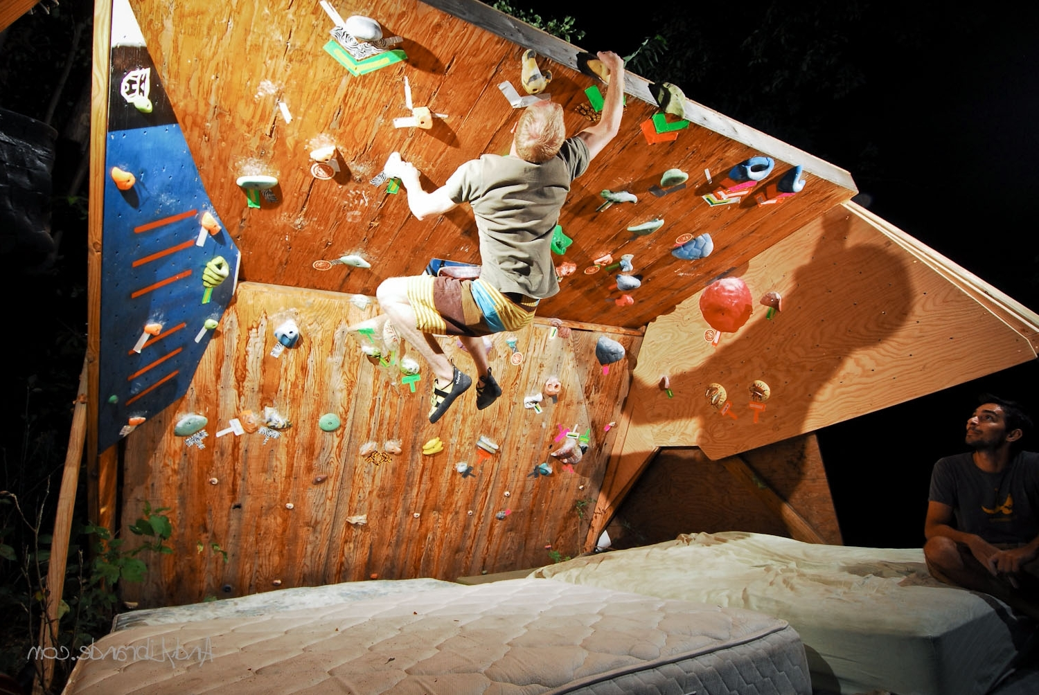 Most Up To Date Home Bouldering Wall Design With Planning A Climbing Wall » The Home Climbing Wall Resource (View 11 of 15)