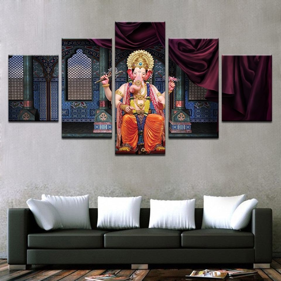 Most Up To Date India Abstract Wall Art For Modern Canvas Abstract Painting Hd Printed Pictures Wall Art (View 5 of 15)