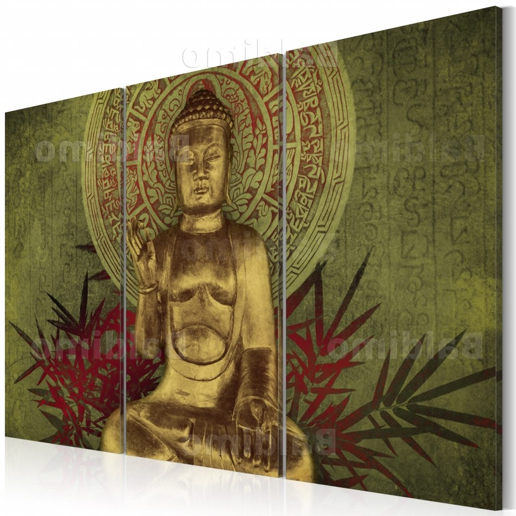 Most Up To Date Large Buddha Wall Art For Splendid Design Inspiration Buddha Canvas Wall Art Plus 48 Details (View 11 of 15)