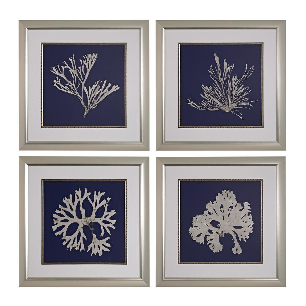 Most Up To Date Navy Blue Wall Art Pertaining To Titan Lighting 28 In. X 28 In (View 15 of 15)