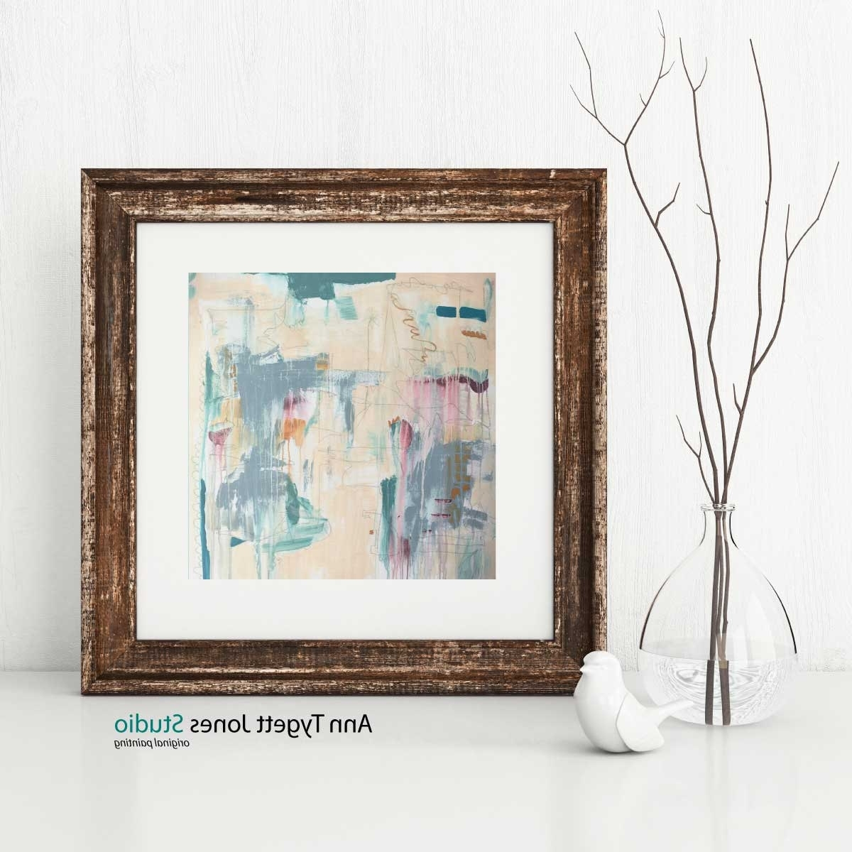 Most Up To Date Pastel Abstract Wall Art With Regard To Abstract Art Print, Pastel Abstract Wall Art, Interior Wall Decor (View 6 of 15)
