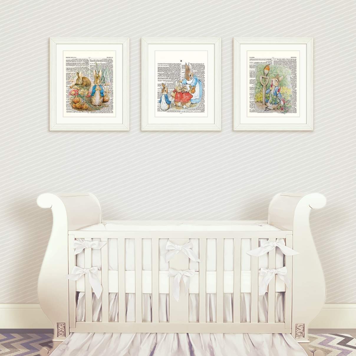 Most Up To Date Peter Rabbit Nursery Wall Art Set 1 – Regarding Nursery Wall Art (View 6 of 15)