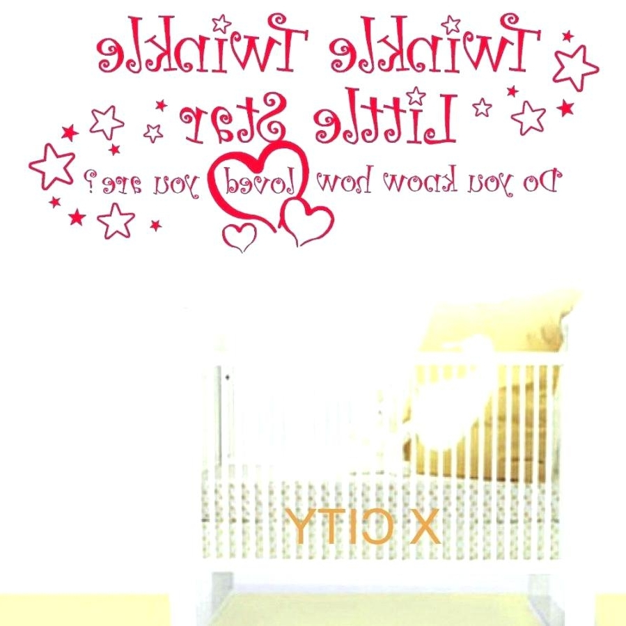 Most Up To Date Twinkle Twinkle Wall Decal Wall Ideas Zoom Baby Wall Art Stickers For Personalized Nursery Wall Art (View 6 of 15)