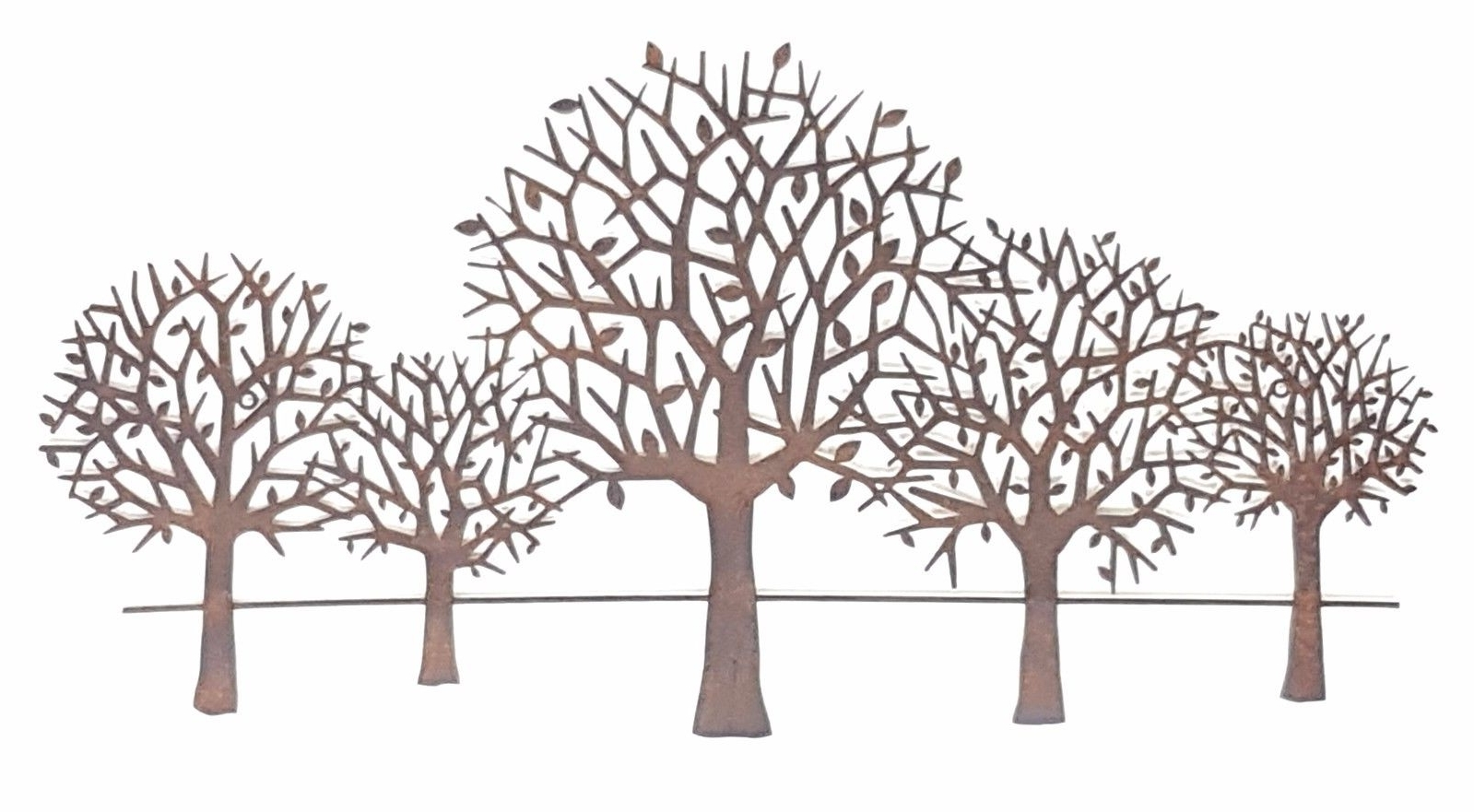 Most Up To Date Wall Art Designs: Metal Wall Art Trees Tree Scenery Metal Hanging With Regard To Tree Wall Art Sculpture (View 7 of 15)