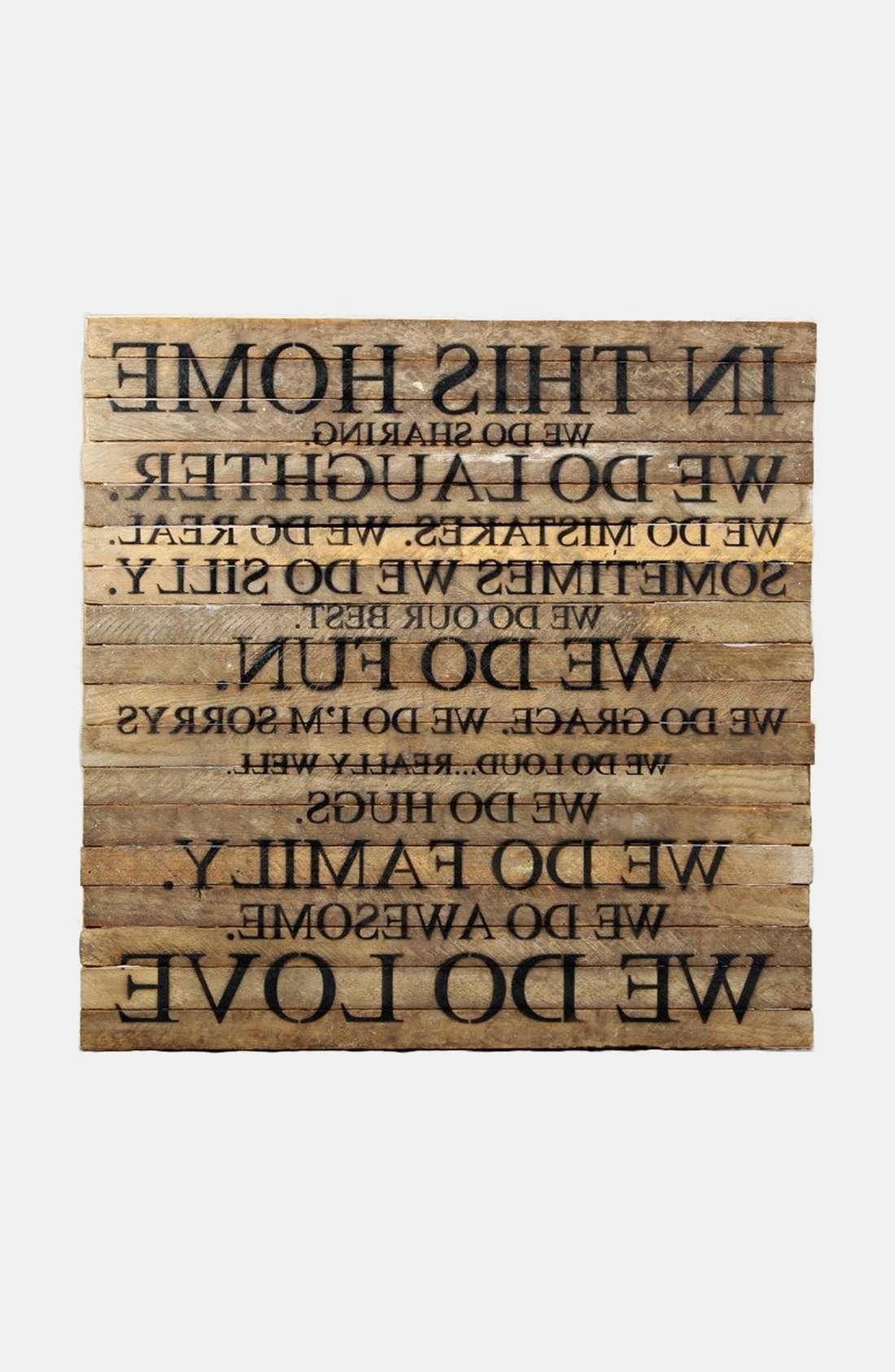 Most Up To Date Wooden Words Wall Art Regarding Wall Art Ideas Design : Wrought Wood Word Wall Art Craving Woods (View 2 of 15)