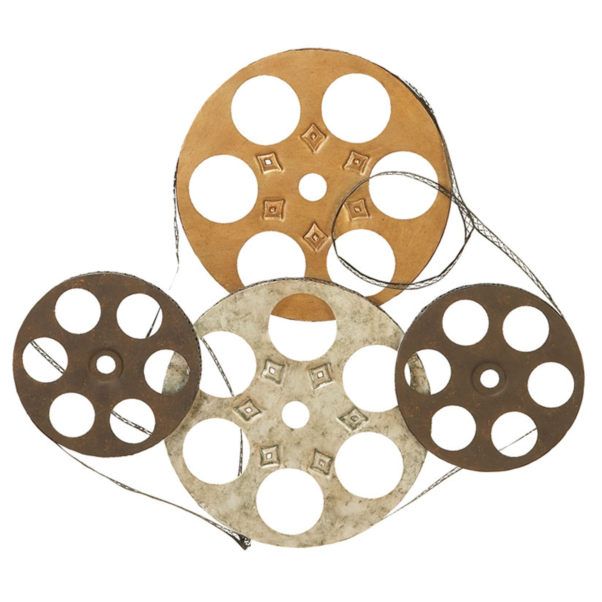 Movie Reel Wall Art Pertaining To Popular Wall Art Design Ideas: Showtime Contemporary Film Reel Wall Art (View 9 of 15)