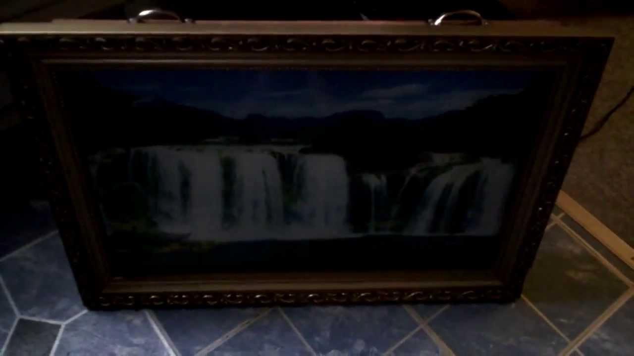 Moving Waterfall Wall Art Inside Fashionable Motion Moving Waterfall Wall Art – Youtube (View 11 of 15)