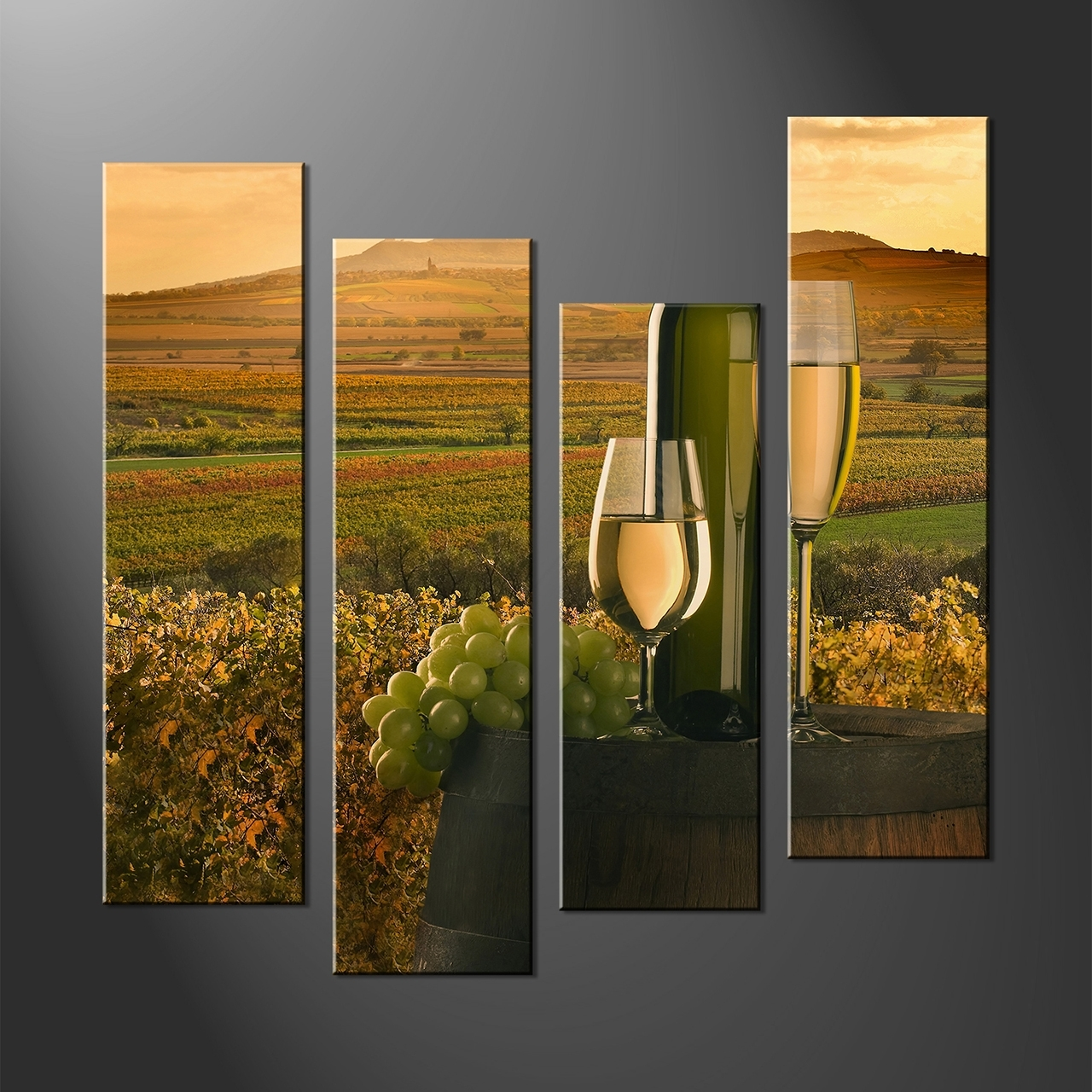 Multiple Piece Wall Art Pertaining To Preferred 4 Piece Wall Art Set Multiple Canvas Wall Art (View 8 of 15)